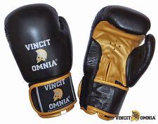 Gants compétition Boxe Muay Thai Kick Boxing Vincit Omnia en cuir toutes tailles