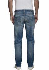 Replay Newbill Worker MCA955 Jeans W31 L34 Herren Denim Blau Used Stretch Hose