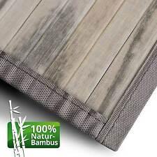 Bambusteppich Bambusmatte Bambus Teppich Läufer Vorleger Küchenteppich Badmatten