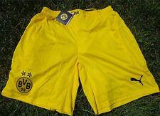 BORUSSIA DORTMUND pantalons courts PUMA pour hommes / L-XXXL BVB jaune Football