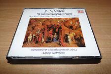 BACH - WEIHNACHTSORATORIUM - T. LEIPZIG - KURT THOMAS - 3CD SET + BOOK - BERLIN