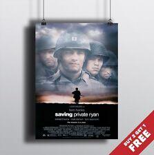 Saving private ryan 1998 Affiche de cinéma A3 A4 * Steven Spielberg imprimer l'affiche de film