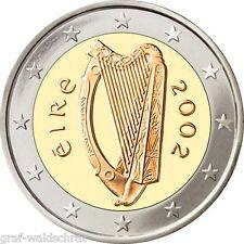 2 euros a partir de Irlanda 2002 años todos-UNC libre elegibles