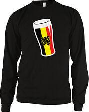 Belgium Pint Beer Glass Flag Belgie Vlag Dutch Van Bar Mug BEL BE Men's Thermal