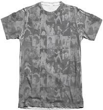 Official Elvis Presley The TCB Crowd Vintage Feel Sublimation Print T-shirt