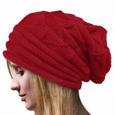 NEW LADIES FASHION POPULAR BONNET WINTER BEANIE CROCHET TOP HAT KNIT WARM CAP
