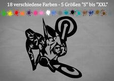 Motocross Aufkleber abstrakt FOX Racing KTM Husqvarna GasGas 18 Farben 5 Größen