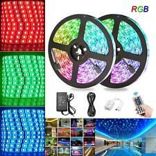 5m-30m LED Stripe RGB Wasserdicht Leiste Streifen 5050 Band Leuchte Lichterkette
