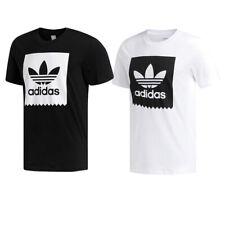 Adidas Men's Short Sleeve Blackbird Trefoil Graphic Logo Active T-Shirt