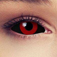 Sclera Kontaktlinsen schwarz rot 22mm Tokyo Ghoul Anime Cosplay Saw Puppe Kostüm