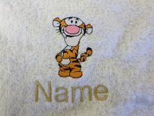 TIGGER mit personalisiert Name Bestickt bis zu Handtücher Bademäntel