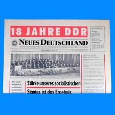 DDR Neues Deutschland August 1968 Geburtstag Hochzeit 46. 47. 48. 49. 50. SED