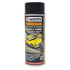 MACOTA DUECOLOR vernice spray smalto acrilico per plastica gomma paraurti auto