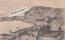 c. 1920 EASDALE, OBAN, SCOTLAND, BIRDSEYE VIEW POSTCARD