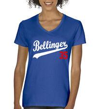 "V-NECK Ladies Cody Bellinger Los Angeles Dodgers ""35"" Jersey shirt Ladies"