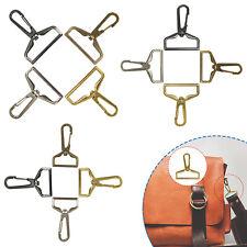 Lobster Trigger Swivel Clasps Clip Key Ring Bag Charm Finding Split Ring Hook