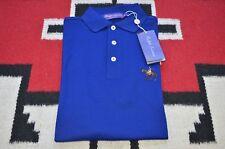 Ralph Lauren Purple Label Made in Italy 100% Cotton Pony Logo Mesh Polo Shirt