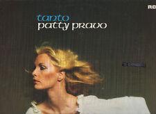 PATTY PRAVO raro disco LP 33 giri MADE in GERMANY stampa TEDESCA Tanto VANGELIS