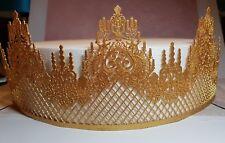 Edible Lace Castle Decorative Cake Strip, Wedding, Cakes, Cupcakes