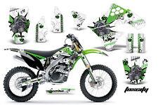 AMR RACING GRAPHIC KIT STICKER DECALS MX  MOTO KAWASAKI KX250F KX250 09-12 TOXIC
