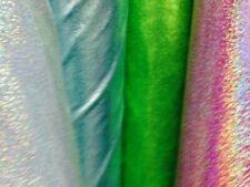 Metallic Dot Foil Lycra fabric by the half metre