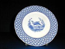 S Hancock &Sons England Blue Bird CHANTILLY Staffordshire Plate/s (loc-30A)