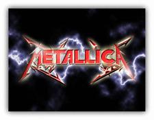Metallica Zipper Music Car Bumper Sticker Decal - 3'' or 5''