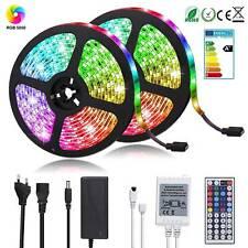 RGB LED Stripe 5050 SMD Leiste Streifen Band Licht Leuchte Lichterkette 1/5/10m