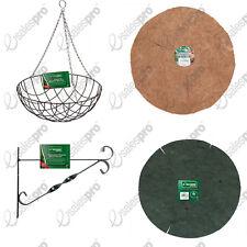 "Hanging Basket inc Liner bundles jute or coconut choices deals 12"" 14"" 16"""