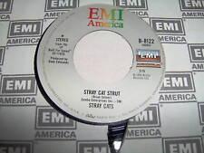 STRAY CATS-STRAY CAT STRUT/YOU DON'T BELIEVE ME rock 45