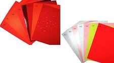 """250GSM  8""""x11""""  Premium Paper for Invitations & Paper Craft- Pick Color/Quantity"""