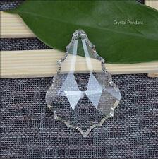 20pcs Various sizes Maple Leaf shape Clear Glass Prisms Chandelier Crystal Parts