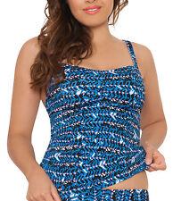 Curvy Kate cs2906 Instinkt Tankini Top Bademode in Tiefsee Blau