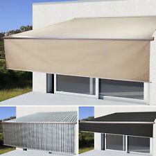 Elektrische Markise T124, 4,5x3m ausfahrbarer Volant Polyester/Citel Acryl UV80