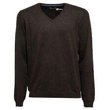 5571K maglione uomo FRED MELLO green melange sweater man
