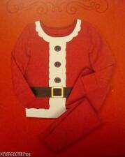 WONDERSHOP~2 PC COTTON CHRISTMAS SANTA PAJAMAS~PJS~18M~4~5~8~10~12~GIRL~BOY~NWT