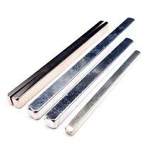 Cierre de Puerta Mango Aluminio o Acero Recambio Husos Cromo Palanca Barra