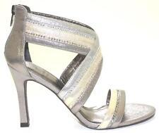 Women's Shoes Adrianna Papell EVONNE Evening Sandals Rhinestones Metallic Multi
