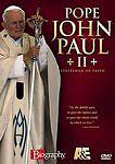 Pope John Paul II - Statesman of Faith Biography A & E DVD Video