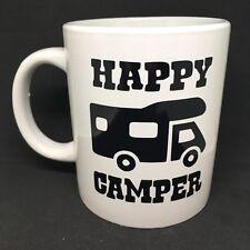 Happy Camper Camper in Vinile Decalcomania Sticker-ottimo per regali fai da te