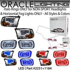 ORACLE Halo Kit for NON-SPORT Headlights & HORIZ Fog Lights for 09-12 Dodge RAM