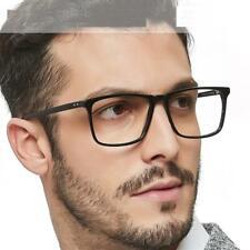 Men Eye Glass Optical Lens Prescription Anti Blue Light Acetate Rectangle Frame