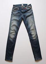 Replay Luz Skinny Damen Jeans, Blau, Mod:WX649 W26,30 L30,32