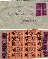 Servizio lettera 10. okt.23 - 12x n. 91, 50 x n. 90 (20 xnicht o) (21784-o2)