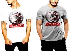 Brand New Metal Gear T-Shirt Vintage Raiden Cyborg Tactical Espionage Action Tee