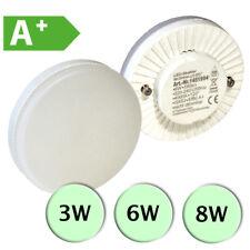 GX53 LED Einsatz Lampe Strahler Leuchtmittel 3W, 6W oder 8W mit A+ Effizienz