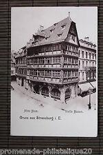 Carte postale ancienne ALTES HAUS - Vielle Maison