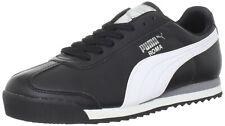 Puma Roma Basic Classic 35357211 Black White Casual Fashion Mens Shoes Sizes