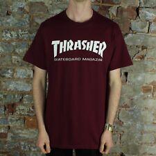 Thrasher Stock Skate Mag Logo T-Shirt – Maroon Brand New in size S,M