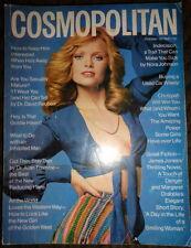 Vintage Cosmo 1973 Goldie Hawn Georgia O'Keeffe Raquel Welch Chanel Dr.Pepper ad